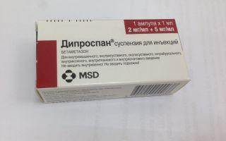 Гормональное лекарство против псориаза Дипроспан