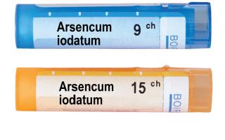 Универсальный гомеопатический препарат Арсеникум Йодатум