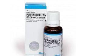 Препарат для лечения псориаза Псоринохель