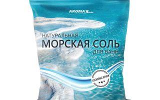 Уникальный компонент для лечения Псориаза — Морская соль