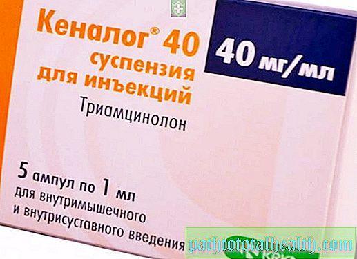 КЕНАЛОГ: инструкция, отзывы, аналоги, цена в аптеках